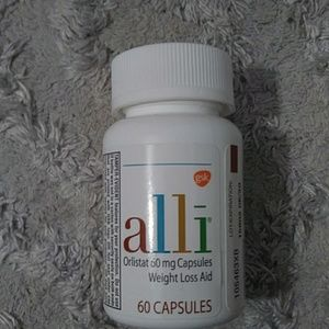 Alli weight loss aid. 60 capsules